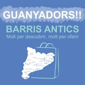 Comerç Figueres i Pla de Barris de l'Ajuntament fan el lliurament del premi