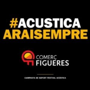 Només per associats, invitació a la Inauguració de l'espai Comerç Figueres a l'Acústica 2016.