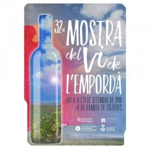 Maridatge aparadors de comerç i vi: 32a Mostra del Vi de l'Empordà.