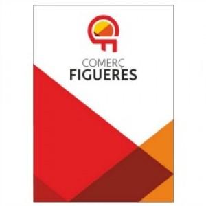 Noves plaques de Comerç Figueres en els establiments associats.