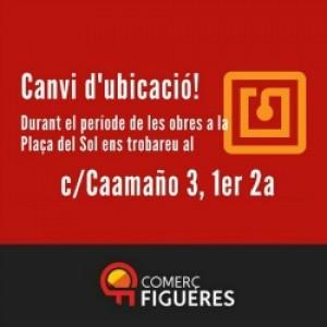 Canvi d'ubicació a Comerç Figueres Associació