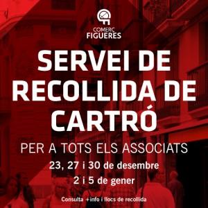 Comerç Figueres oferirà als establiments associats un servei de recollida de cartró.