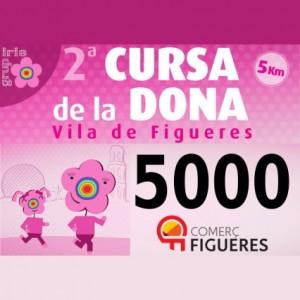 Comerç Figueres participa en la 2a Cursa de la Dona a Figueres