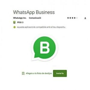 Tots els detalls del nou WhatsApp Business pels autònoms i el petit i mitjà comerç.