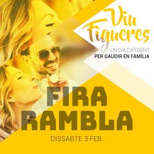 Dissabte 3 de febrer 2018, nova edició FiraRambla Hivern