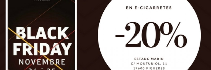 Arriba el BlackFriday Figueres 2017 amb novetats i grans descomptes!