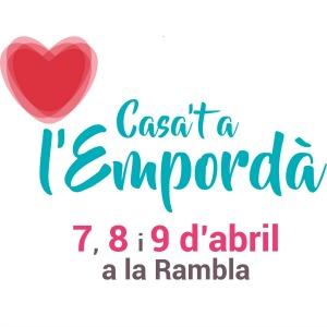 Prop de 50 expositors al Casa't a l'Empordà dels dies 7, 8 i 9 d'abril 2017 a la Rambla de Figueres.